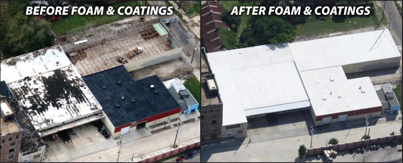 Spray Foam Roofing Wall Foam Roof Coating Elastomeric Flat